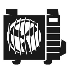 air conditioning street part icon simple style vector image