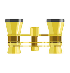 binoculars or opera glasses icon vector image