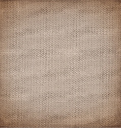 brown canvas to use as grunge background vector image