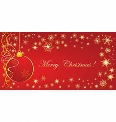 Christmas congratulation vector