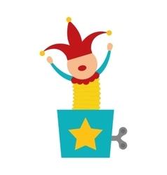 Clown icon Toy design graphic vector