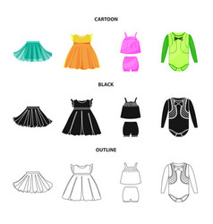 design of fashion and garment symbol vector image