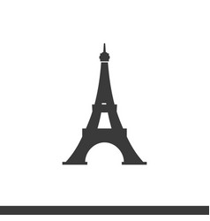 eifel tower icon vector image