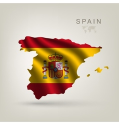 flag spain as a country vector image