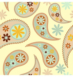 Vector seamless paisley patter vector