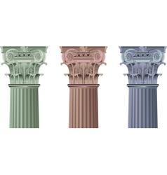 columns vector image