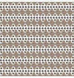Geometrical seamless pattern vector