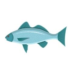 Generic sea fish vector image