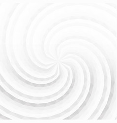 white and grey abstract twisted background vector image vector image
