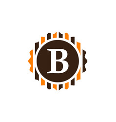 Best quality letter b vector