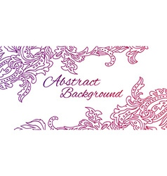 Black lace design Old lace background ornamental vector