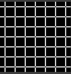 black square on white background seamless vector image