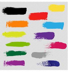 blots for design transparent background vector image