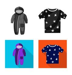 Design fashion and garment symbol set vector