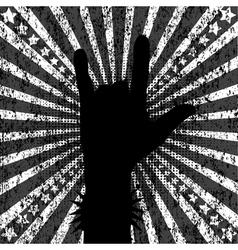 rock background vector image vector image