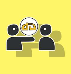 Sticker deviant deviantart social social media vector
