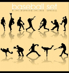 baseball2 vector image