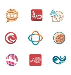Business Logo Templates vector image