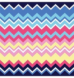 Tribal aztec zigzag seamless pattern print vector image