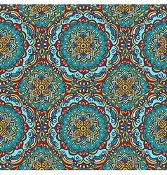Seamless pattern Islam Arabic Indian ottoman vector image vector image
