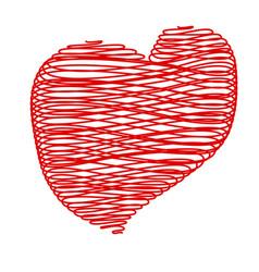 crayon valentine22 0 vector image