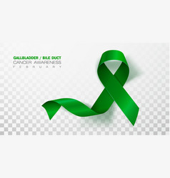 Gallbladder and bile duct cancer awareness month vector