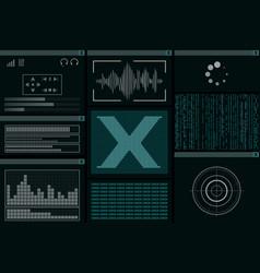 hackers computer program vector image
