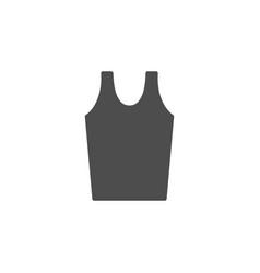 Male singlet glyph modern icon vector