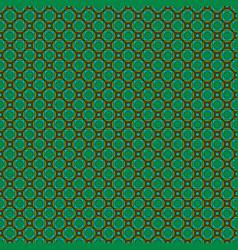 Mod blue green brown interlocking squares vector