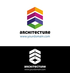 Modern architecture vector image