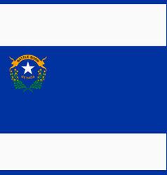 National flag nevada vector