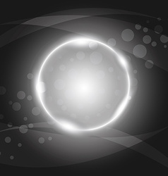 abstract circles Light background Eps 10 vector image