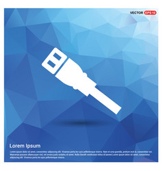 Ethernet cable icon vector
