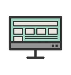 Layout display vector