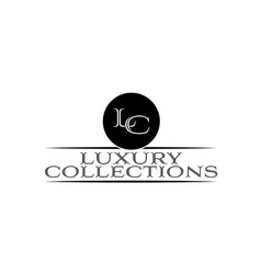 luxury-collections-logo vector image