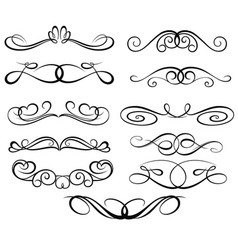 ornate symbols vector image