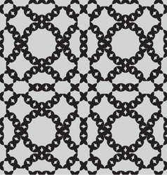 patterns seamless monochrome vector image