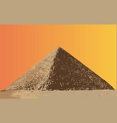 The great pyramid vector