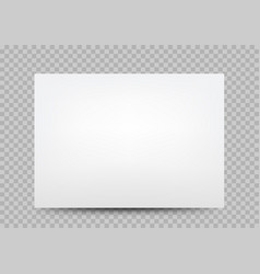 white paper banner cover transparent vector image