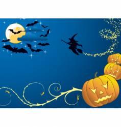background Halloween vector image