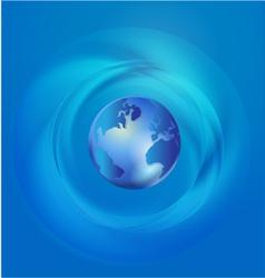 World global commerce communication vector