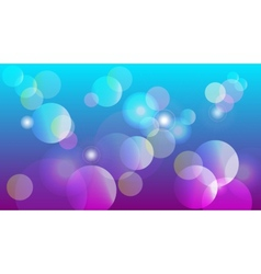 Abstract background with shiny sircles vector
