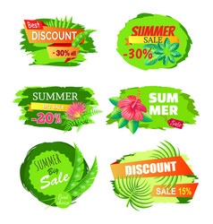 best discount 30 off summer big sale best choice vector image