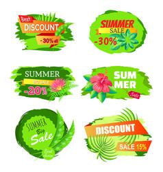 Best discount 30 off summer big sale choice vector