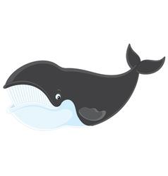 Bowhead whale vector