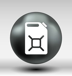 engine oil icon button logo symbol concept vector image