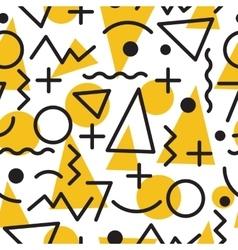 geometric minimal seamless abstract pattern vector image