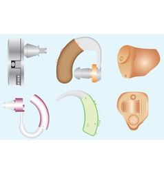 Hearing aids vector