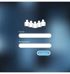 Login Background vector