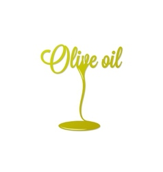 Olive oil isolated sign vector